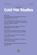 Success and Failure in Counterinsurgency Campaigns: Lessons from the Cold War