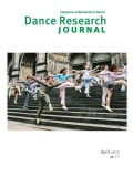 <i>Choreographies of 21st Century Wars</i> ed. by Gay Morris and Jens Giersdorf (review)