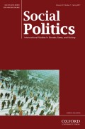 The Politics of Investing in Families: Comparing Family Policy Expansion in Japan and South Korea