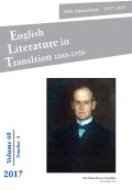 English Literature in Transition, 1880-1920 cover