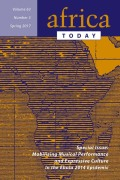 <i>Brazilian–African Diaspora in Ghana: The Tabom, Slavery, Dissonance of Memory, Identity, and Locating Home</i> by Kwame Essien (review)