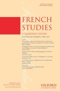 <i>Isotopias: Places and Spaces in French War Fiction of the Twentieth and Twenty-First Centuries</i> by Peter Tame (review)