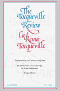 Tocqueville's <i>Recollections</i> in Trump's America