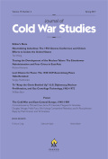 Tracing the Development of the Nuclear Taboo: The Eisenhower Administration and Four Crises in East Asia