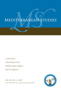 Introduction: Non-state Actors in Mediterranean Politics