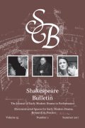<i>OuterSpeares: Shakespeare, Intermedia, and the Limits of Adaptation</i> ed. by Daniel Fischlin (review)
