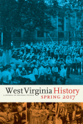 West Virginia History:  A Journal of Regional Studies cover