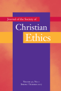 <i>Searching for a Universal Ethic: Multidisciplinary, Ecumenical, and Interfaith Responses to the Catholic Natural Law Tradition</i> ed. by John Berkman and William C. Mattison III (review)