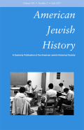 American Jewish Leaders and the North Africa Controversy of 1943: Applying the Gurock Principle