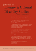 Disability and Human Rights: Toward a Cultural Foundation