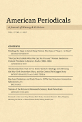 <i>Raising Secular Jews: Yiddish Schools and Their Periodicals for American Children, 1917–1950</i> by Naomi Prawer Kadar