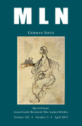 <i>Transplanting the Metaphysical Organ: German Romanticism between Leibniz and Marx</i> by Leif Weatherby (review)