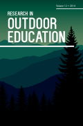 People in Nature: Relational Discourse for Outdoor Educators