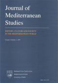 Orientalism and the Jews of the Mediterranean