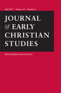 <i>Universal Salvation in Late Antiquity: Porphyry of Tyre and the Pagan-Christian Debate</i> by Michael Bland Simmons (review)