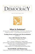 Eroding Norms and Democratic Deconsolidation