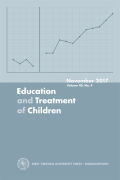 A Systematic Review of Peer-Mediated Interventions on the Academic Achievement of Students with Emotional/Behavioral Disorders
