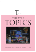 <i>How to Read a Play: Script Analysis for Directors</i> by Damon Kiely (review)