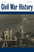 <i>Liberty and Union: The Civil War and American Constitutionalism</i> by Timothy S. Huebner (review)