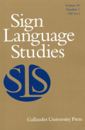 Representations of Sign Language, Deaf People, and Interpreters in the Arts and the Media