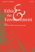 The Darwinian Nihilist Critique of Environmental Ethics