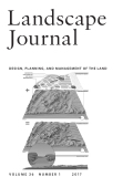 Landscape Journal: design, planning, and management of the land cover