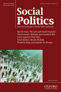 Still Left Behind: Gender, Political Parties, and Latin America's Pink Tide