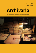 Meaning-Making and Memory-Making in the Archives: Oral History Interviews with Archives Donors