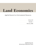Land Economics cover