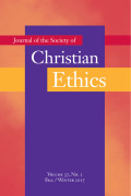 <i>Toward Thriving Communities: Virtue Ethics as Social Ethics</i> by Brian Stiltner (review)
