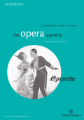 <i>Opera Acts: Singers and Performance in the Late Nineteenth Century</i> by Karen Henson (review)