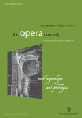 <i>Romantic Anatomies of Performance</i> by J. Q. Davies (review)