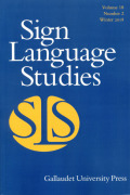 The Relationship between Movements and Positions of the Head and the Torso in Finnish Sign Language