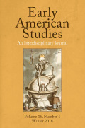 Friends of the McNeil Center for Early American Studies, 2017