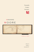 Moore, Pound, Syllabics, and History