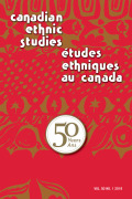 Mastery and Minorities: Sense of Personal Control among Ethno-racial Groups in Canada