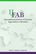 IJFAB: International Journal of Feminist Approaches to Bioethics cover