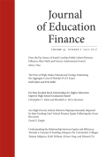 Understanding the Relationship between Equity and Efficiency: Towards a Concept of Funding Adequacy for Community Colleges
