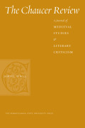 A Language for Ethics and Eloquence: Political and Linguistic Order in Chaucer's <i>Lak of Stedfastnesse</i>