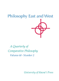 Tradition and Modernity in Liang Shuming's <i>Eastern and Western Cultures and Their Philosophies</i>