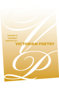 Victorian Poetry Index: Volume 55, 2017