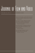 <i>Fade to Gray: Aging in American Cinema</i> by Timothy Shary and Nancy McVittie (review)