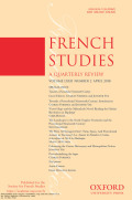 <i>History as a Kind of Writing: Textual Strategies in Contemporary French Historiography</i> by Philippe Carrard (review)