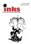 Inks: The Journal of the Comics Studies Society cover