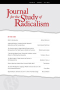 Journal for the Study of Radicalism cover