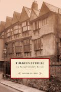 Tolkien Studies cover