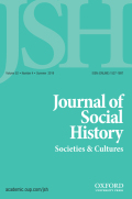 Journal of Social History cover