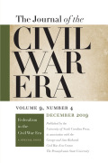 The Journal of the Civil War Era cover