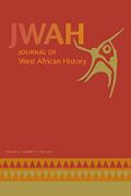 Journal of West African History cover