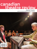 Canadian Theatre Review cover